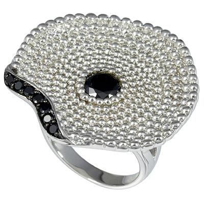 Серебряное кольцо  C1293R9043