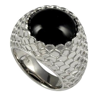 Серебряное кольцо  C1325R9013