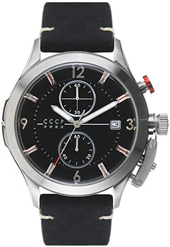 Российские наручные мужские часы CCCP CP-7033-01. Коллекция Shchuka фото