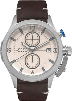Российские наручные мужские часы CCCP CP-7033-03. Коллекция Shchuka фото