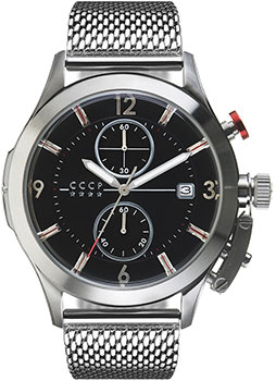 Российские наручные мужские часы CCCP CP-7033-44. Коллекция Shchuka фото