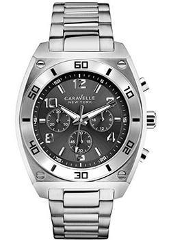 fashion наручные мужские часы Caravelle New York 43A120. Коллекция Mens Collection