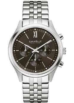 fashion наручные  мужские часы Caravelle New York 43A133. Коллекци Mens Collection