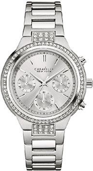 fashion наручные  женские часы Caravelle New York 43L186. Коллекци Ladies Collecion