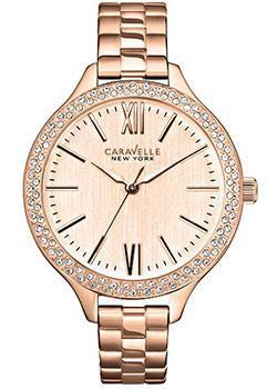fashion наручные  женские часы Caravelle New York 44L125. Коллекция Ladies Collecion