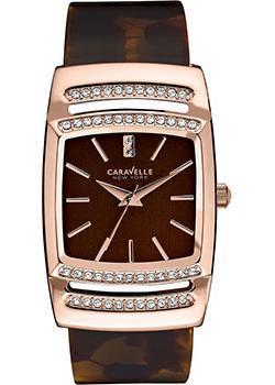 fashion наручные  женские часы Caravelle New York 44L150. Коллекция Ladies Collecion