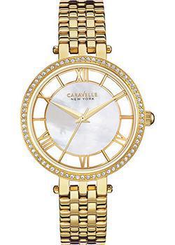 fashion наручные женские часы Caravelle New York 44L170. Коллекция Ladies Collecion