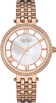 fashion наручные женские часы Caravelle New York 44L171. Коллекция Ladies Collecion