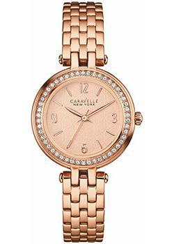 fashion наручные  женские часы Caravelle New York 44L175. Коллекция Ladies Collecion