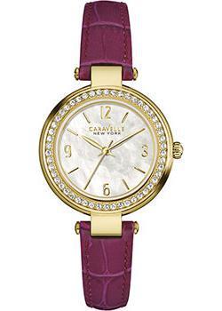 fashion наручные  женские часы Caravelle New York 44L176. Коллекция Ladies Collecion