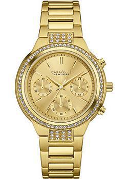 fashion наручные женские часы Caravelle New York 44L179. Коллекция Ladies Collecion