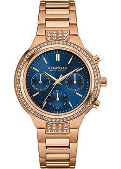 fashion наручные женские часы Caravelle New York 44L181. Коллекция Ladies Collecion