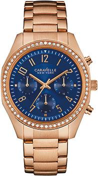 fashion наручные женские часы Caravelle New York 44L196. Коллекция Ladies Collecion