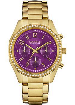 fashion наручные женские часы Caravelle New York 44L197. Коллекция Ladies Collecion