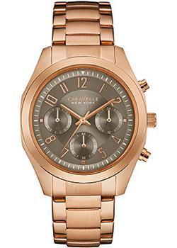fashion наручные  женские часы Caravelle New York 44L198. Коллекция Ladies Collecion