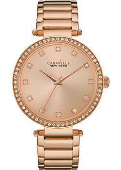 fashion наручные  женские часы Caravelle New York 44L208. Коллекция Ladies Collecion