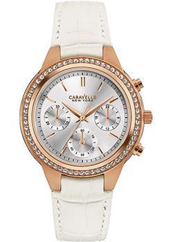 fashion наручные женские часы Caravelle New York 44L214. Коллекция Ladies Collecion