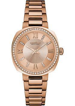 fashion наручные  женские часы Caravelle New York 44L224. Коллекция Ladies Collecion