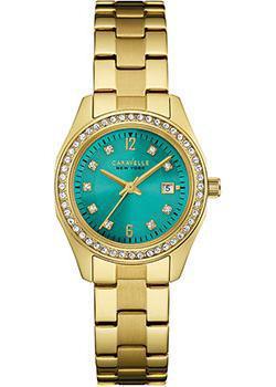 fashion наручные  женские часы Caravelle New York 44M109. Коллекция Ladies Collecion