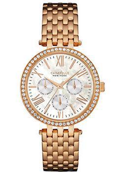 fashion наручные женские часы Caravelle New York 44N101. Коллекция Ladies Collecion