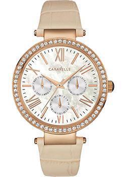 fashion наручные женские часы Caravelle New York 44N105. Коллекция Ladies Collecion
