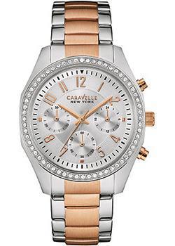 fashion наручные женские часы Caravelle New York 45L148. Коллекция Ladies Collecion
