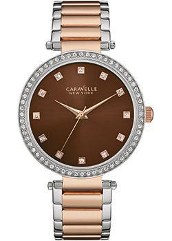 fashion наручные  женские часы Caravelle New York 45L152. Коллекция Ladies Collecion
