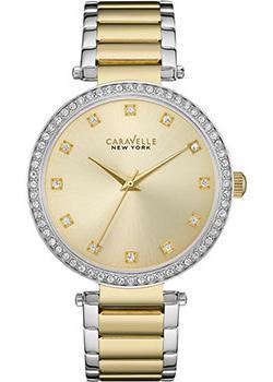 fashion наручные женские часы Caravelle New York 45L154. Коллекция Ladies Collecion