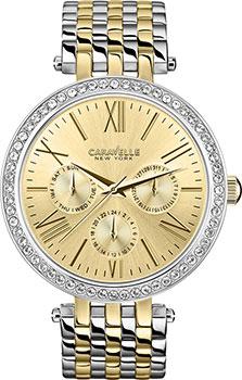 fashion наручные  женские часы Caravelle New York 45N100. Коллекция Ladies Collecion