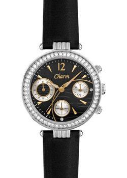 Российские наручные  женские часы Charm 8040105. Коллекция Хронографы