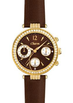Российские наручные  женские часы Charm 8046106. Коллекция Хронографы