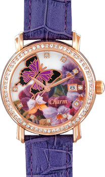 Российские наручные  женские часы Charm 86489617. Коллекци Кварцевые женские часы