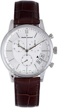 Швейцарские наручные  мужские часы Claude Bernard 01002-3AIN. Коллекция Northline