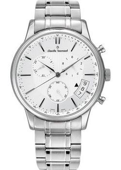 Швейцарские наручные  мужские часы Claude Bernard 01002-3MAIN. Коллекция Classic Gents Chronograph