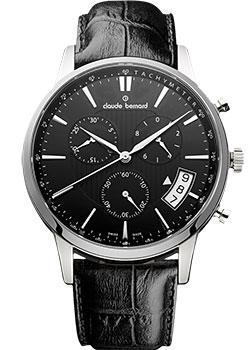 Швейцарские наручные  мужские часы Claude Bernard 01002-3NIN. Коллекция Northline