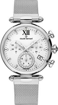 Швейцарские наручные женские часы Claude Bernard 10216-3APN1. Коллекция Dress code Chronograph