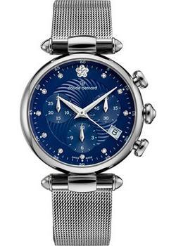 Швейцарские наручные женские часы Claude Bernard 10216-3BUIFN2. Коллекция Dress code Chronograph