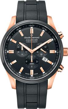 Швейцарские наручные  мужские часы Claude Bernard 10222-37RNCANIR. Коллекция Aquarider