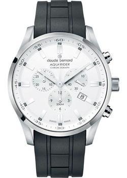 Швейцарские наручные  мужские часы Claude Bernard 10222-3CAAIN. Коллекция Aquarider