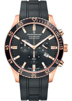 Швейцарские наручные  мужские часы Claude Bernard 10223-37RNCANIR. Коллекция Aquarider