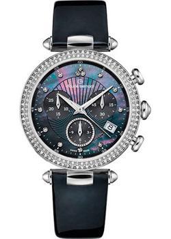 Швейцарские наручные  женские часы Claude Bernard 10230-3NANN. Коллекция Dress code Chronograph