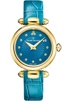 Швейцарские наручные  женские часы Claude Bernard 20209-37JBUPID. Коллекция Dress Code Mini Quartz