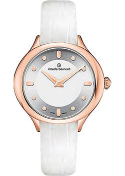 Швейцарские наручные  женские часы Claude Bernard 20217-37RAIR. Коллекция Dress Code