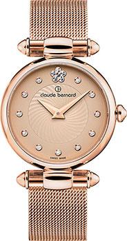 Швейцарские наручные женские часы Claude Bernard 20500-37RBEIR2. Коллекция Dress Code фото