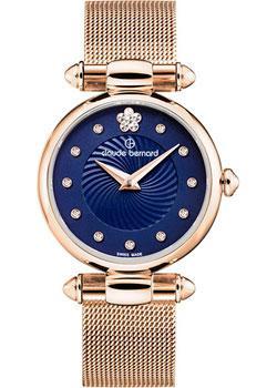 Швейцарские наручные  женские часы Claude Bernard 20500-37RBUIFR2. Коллекция Dress code