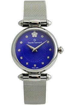 Швейцарские наручные  женские часы Claude Bernard 20500-3BUIPN2. Коллекция Dress code