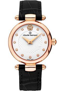 Швейцарские наручные  женские часы Claude Bernard 20501-37RAPR2. Коллекция Dress code