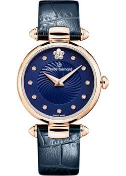 Швейцарские наручные  женские часы Claude Bernard 20501-37RBUIFR2. Коллекция Dress code