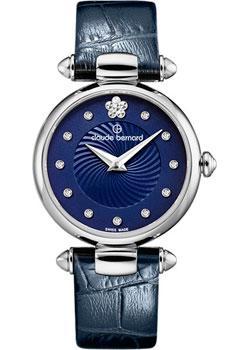 Швейцарские наручные  женские часы Claude Bernard 20501-3BUIFN2. Коллекция Dress code