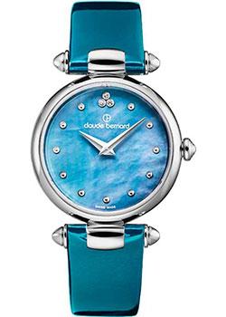 Швейцарские наручные  женские часы Claude Bernard 20501-3NABUDN. Коллекция Dress Code